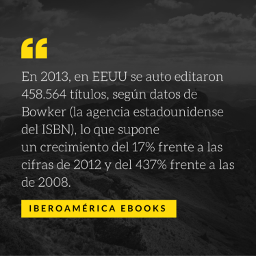 En 2013, en EEUU se auto editaron 458.564