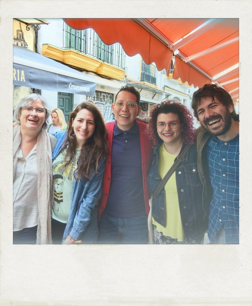 Foto de recuerdo: curso de iniciación, primavera 2018   Taller de Escritura Creativa de Israel Pintor en Sevilla