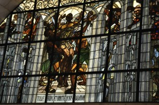 Barabas stained glass