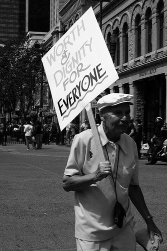 cambio dignidad por reconocimiento