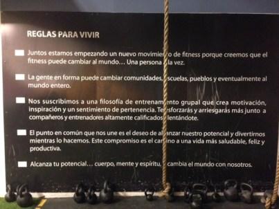 Crossfit cordillera Chile