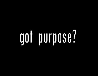 propósito en la vida