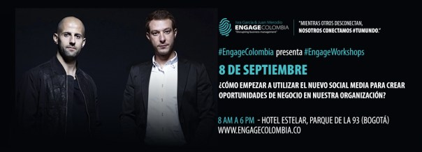 isra garcia juan merodio engage colombia workshop
