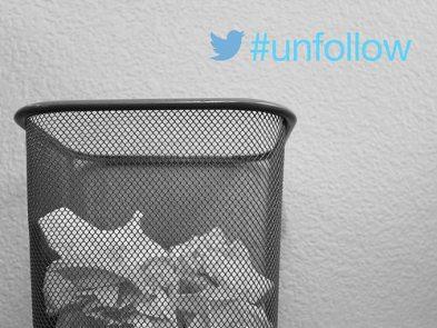 por qué twitter unfollow - usas twitter