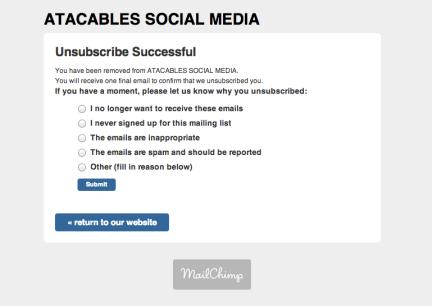 esa habilidad de hacer spam