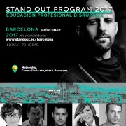 Stand OUT Program Barcelona 2017: educación disruptiva transversal