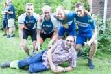 Joost Pepping, Tim Telleman, Isra van Velzen, Tom Lughthart en Cees Beerthuizen