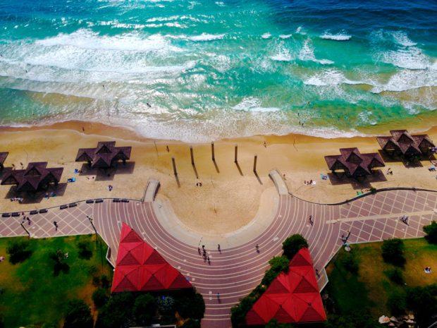 Хайфа, пляж