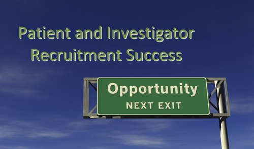 Report cover for Patient and Investigator Recruitment Success