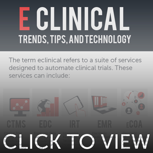 Preview image for eClinical Trends, Tips, and Technology infographic