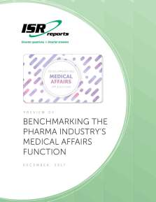 Benchmarking the Pharma Industry's Medical Affairs Functions
