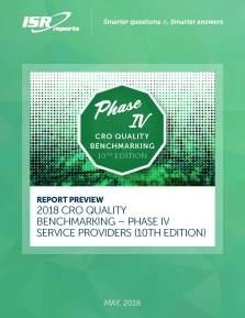 Phase IV CRO Benchmarking