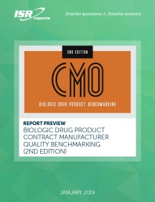 Biologic Drug Product CMO Benchmarking