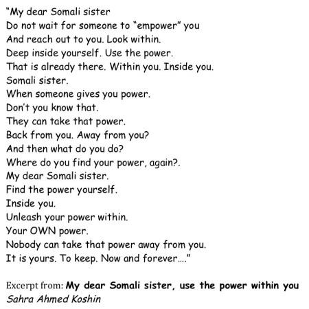 Somali poem