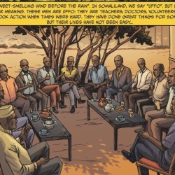 17th Development Dialogue| Communicating research differently: how a comic strip is bringing the everyday struggles of Somaliland's Uffo to life