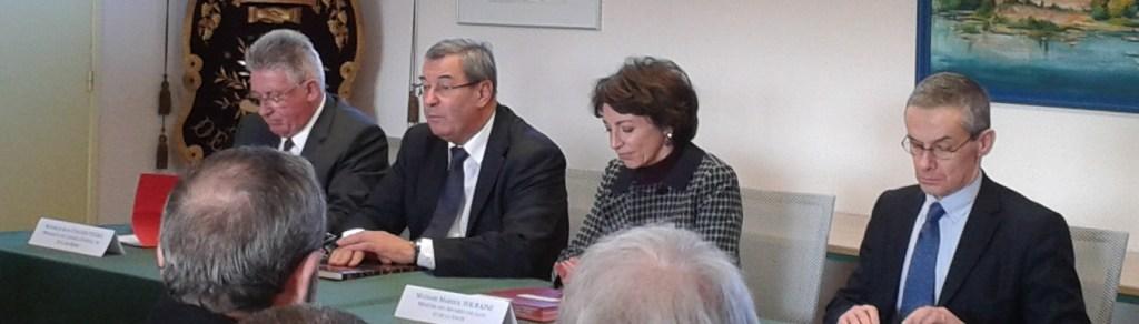 Jean Yves Gouttebel, Jean-Paul Bacquet, Marisol tourraine, François Dumuis Dumuis