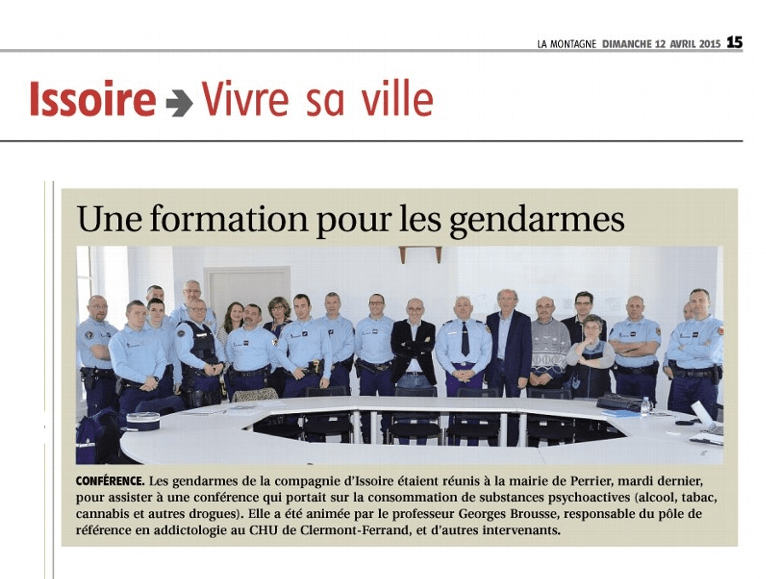 PERRIER FORMATION GENDARME ADDICTION 12.04