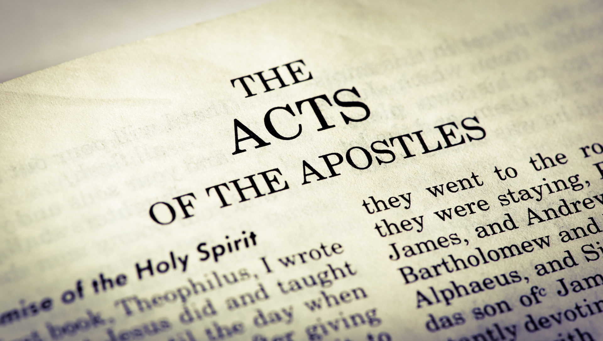 Introducing The Books Of The Bible Acts Pr Bryan