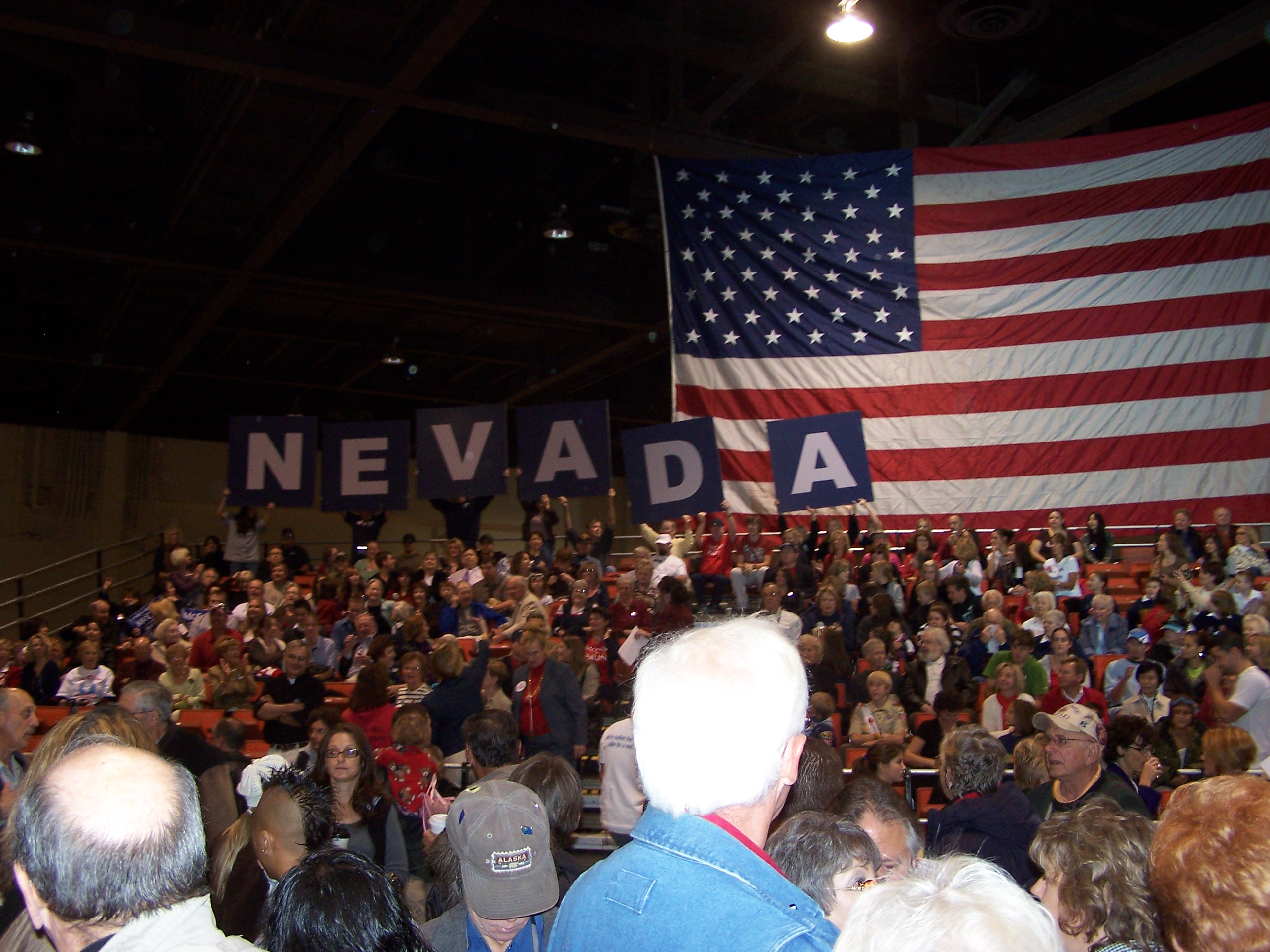 Nevada Support at Sarah Palin Rally