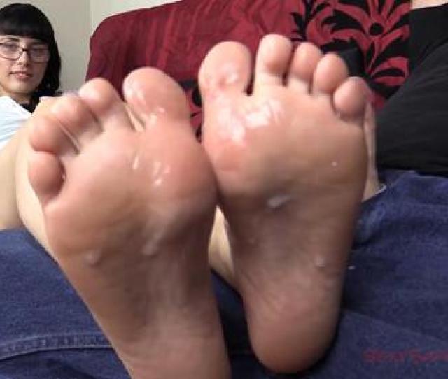 Cum All Over My Feet