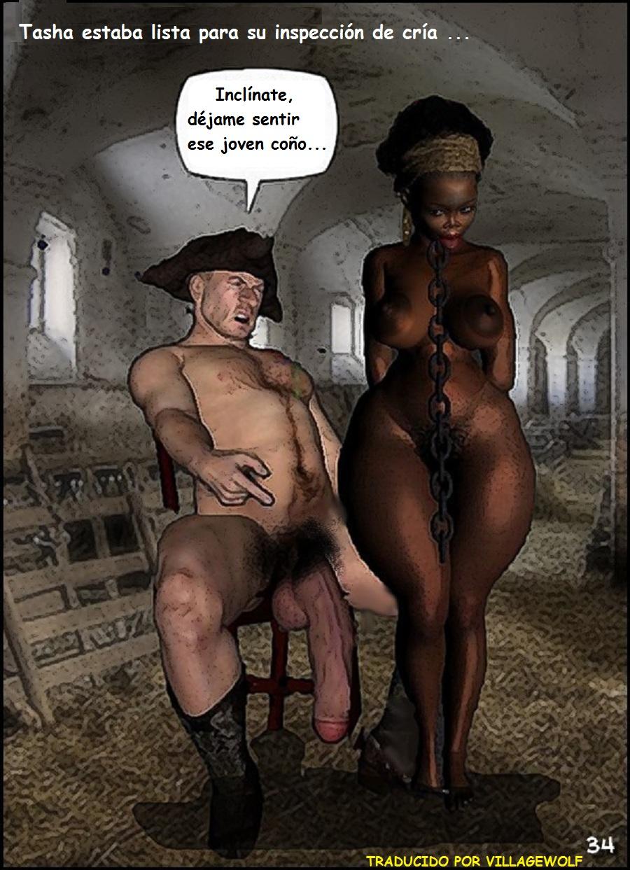 black slave plantation porn