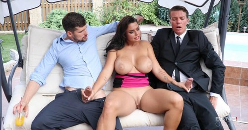 70d2708018fa320173fbe278ac5c6503 m - Chloe Lamour - Chloe Lamoure Has Giant Tits And A Craving For Two Dicks!