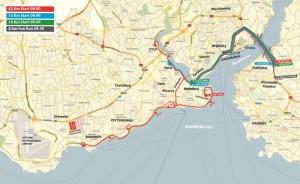 Streckenplan Marathon