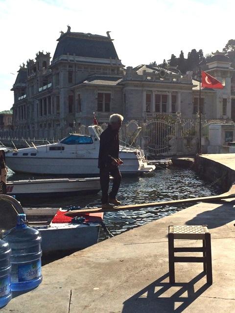 Ein Café am Bosporus