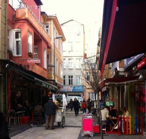 Gasse in Ortaköy