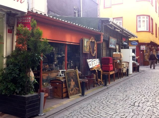 Antiquitäten in Istanbul