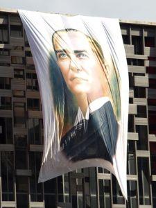 Atatürk-Flagge am Kulturzentrum