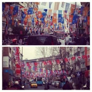 Istanbul im Wahlkampf