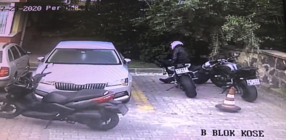 (Özel) Vatandaşları canından bezdiren motosiklet hırsızları kamerada
