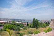 Golden Horn scene from walls, Surlardan Haliç manzarası