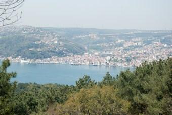 Yoros Kalesi, Anadolu Kavağı, Yoros Castle, Bosphorus, İstanbul, Pentax K10D