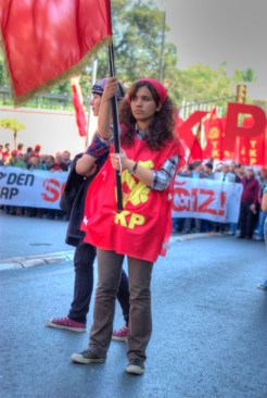 33 years delay, celebration in Taksim