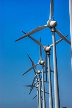 Wind turbines of Bozcaada, Çanakkale, pentax k10d, by ozgur ozkok