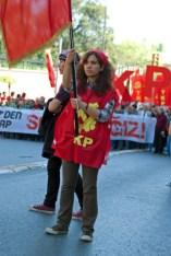 1 Mayıs Kutlamaları 2010 Taksim Meydanı, Labour day at Taksim Square, Istanbul, pentax k10d, photos by ozgur ozkok