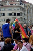 LGBT Pride Parade , Taksim Square, photos by ozgur ozkok