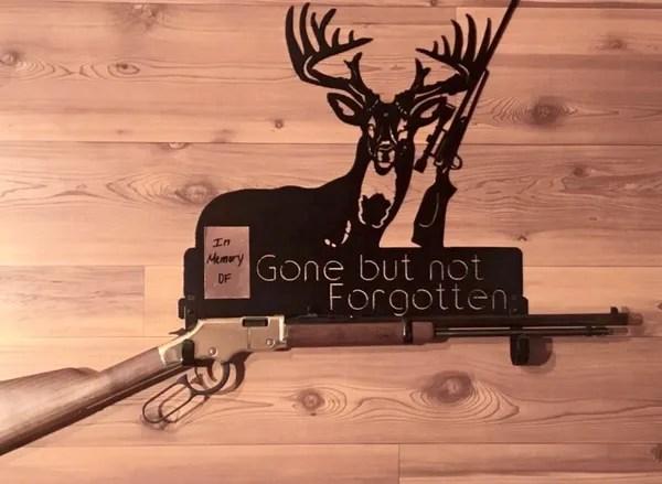 gone but not forgotten metal gun rack