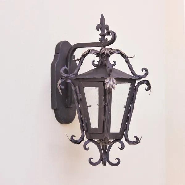 7232 1 mediterranean wrought iron outdoor light
