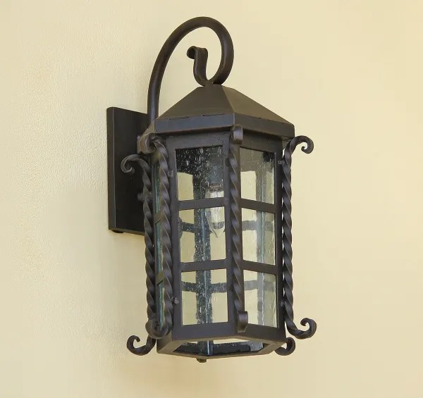 7094 1 spanish colonial revival style outdoor wall lantern