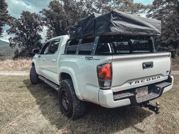 thorax 12 tall tacoma specific overland bed rack system 2005 2020 toyota tacoma