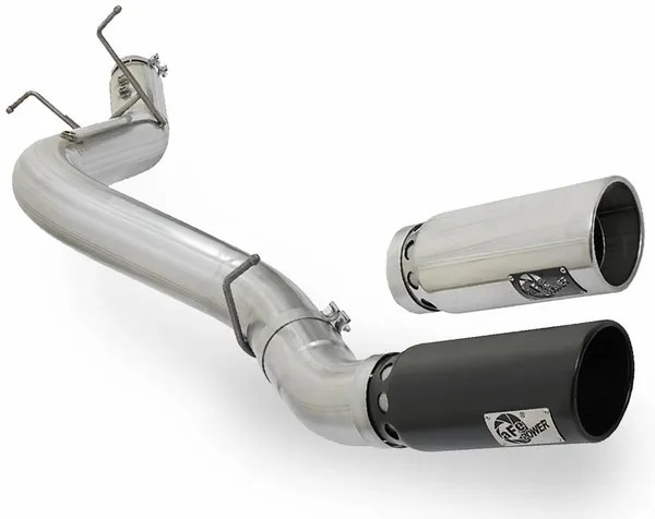 afe 2017 chevrolet gmc duramax l5p 5 inch single side exit dpf back exhaust system