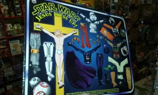 Magnetic Jesus Dress Up  STAR WARS   Whozitz and Whatzitz Unique     Magnetic Jesus Dress Up  STAR WARS