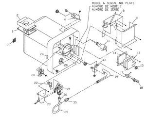 Suburban Water Heater Model SW4D Parts | pdxrvwholesale
