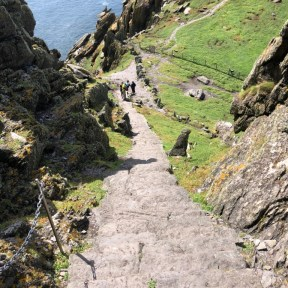 Skellig Michael Steps