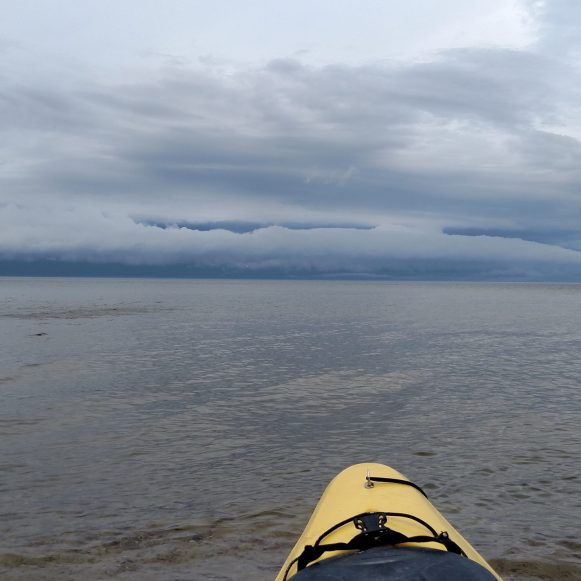 Storm over Lake Superior - We're still kayaking right?
