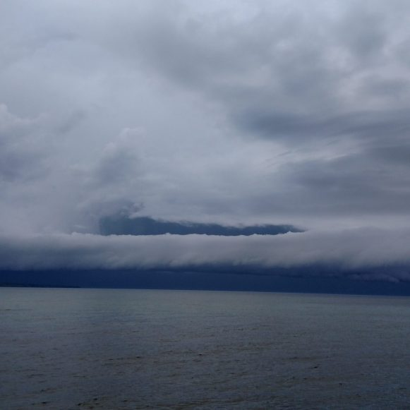 Storm over Lake Superior