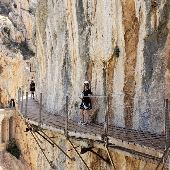 Caminito del Rey Trail and the Carminito shoes
